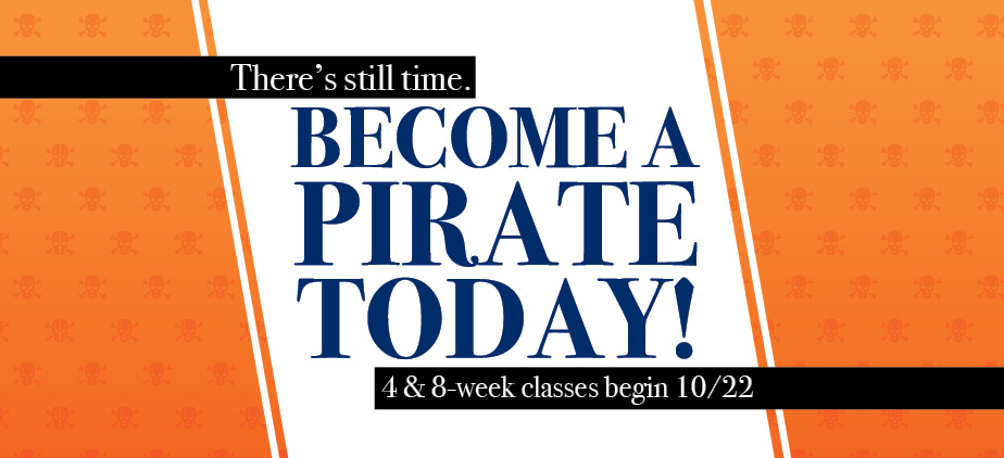 Enroll in Fall Classes Today!