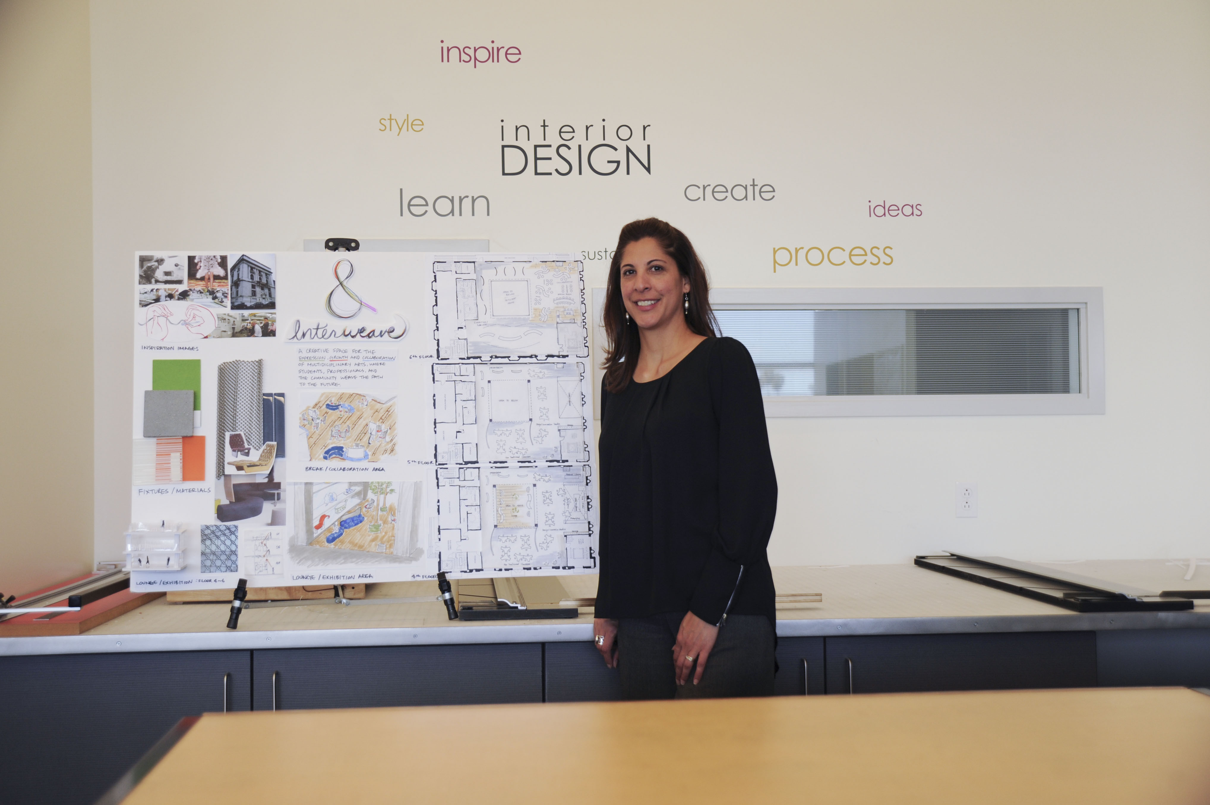 Designing Her Way to the Top