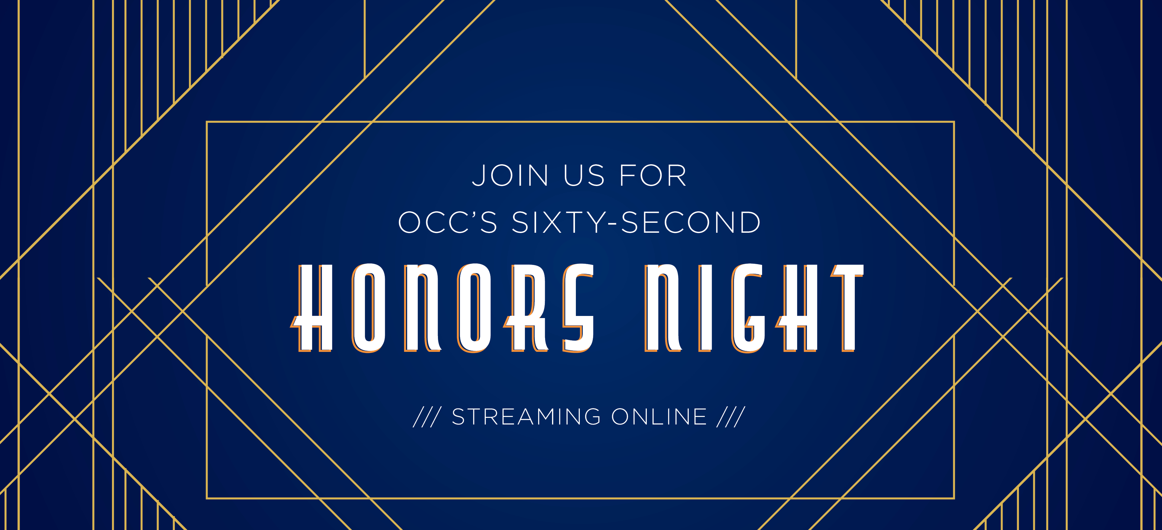 62nd Honors Night: Streaming Online