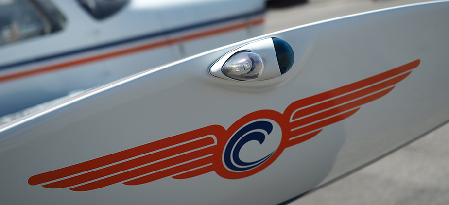 OCC Aviation Logo on Wingtip