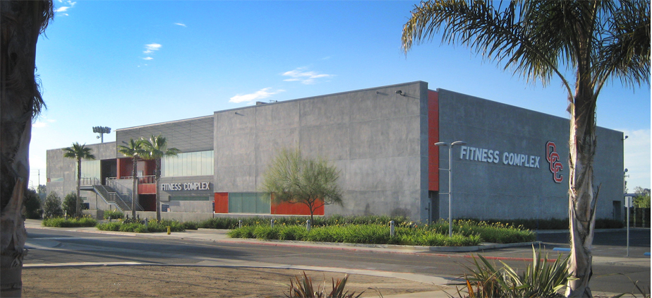 Fitness complex building