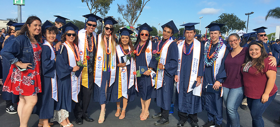 Guardian Scholars at Commencement