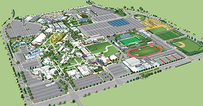 Coa Campus Map.Orange Coast College