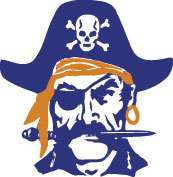 Pirate mascot color