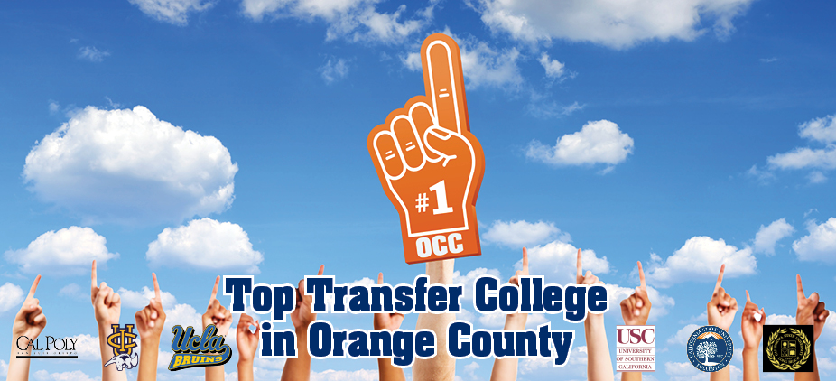 Orange Coast College is the Top Transfer College in Orange County