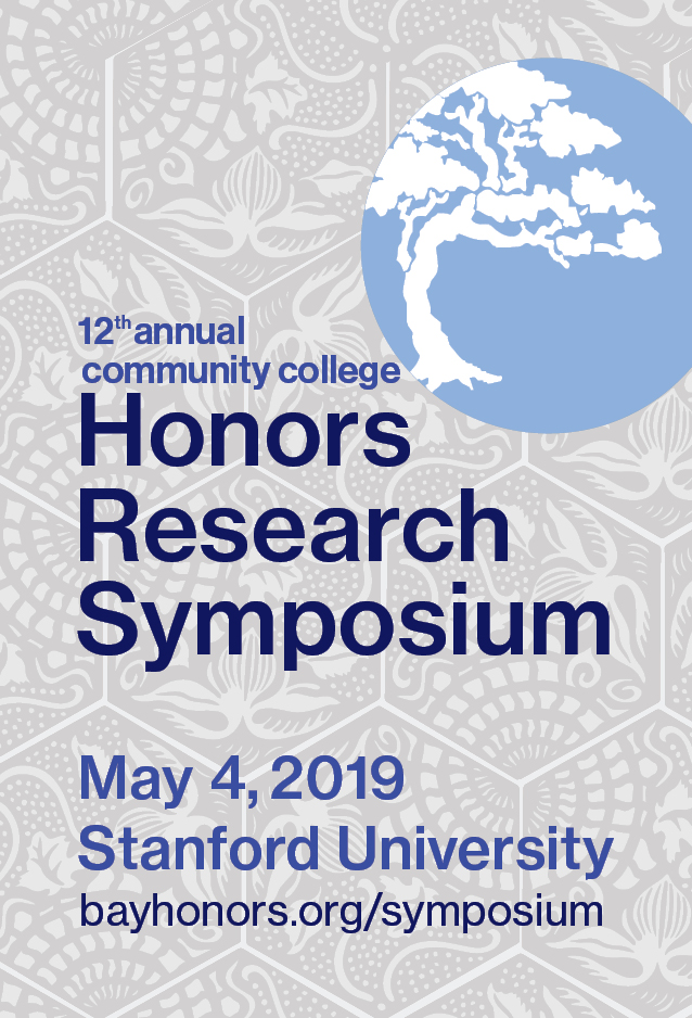 12th Annual Honors Research Symposium on Saturday, May 4, 2019.